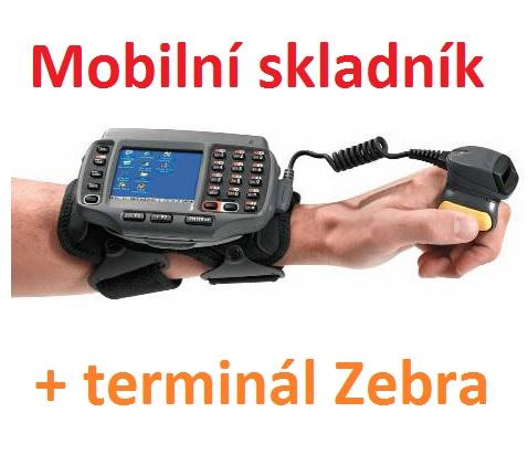 Mobilní skladník uvolňuje ruce