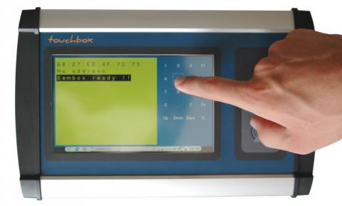 Touchbox-hand