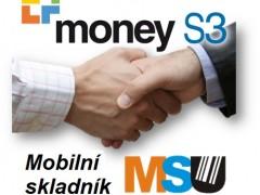 Money S3 a Mobilní skladník